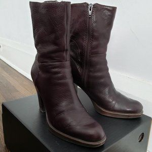 2/$60 Nine West Brown Leather Boots